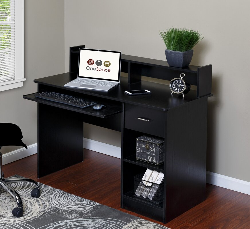 Essential Computer Desk with Pull-out Keyboard