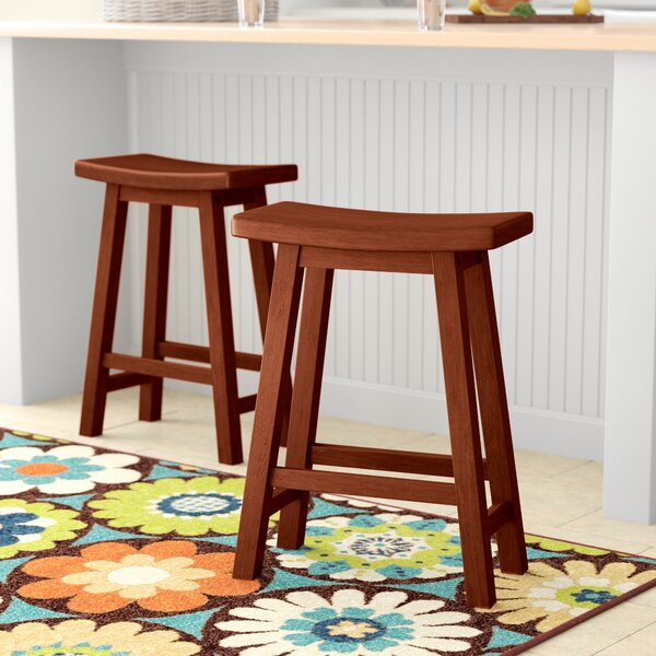 Cattle 24 Bar Stool by Andover Mills