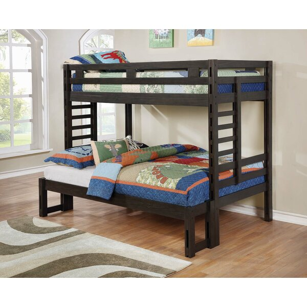 Kirtin Twin Over Full Standard Bed by Harriet Bee