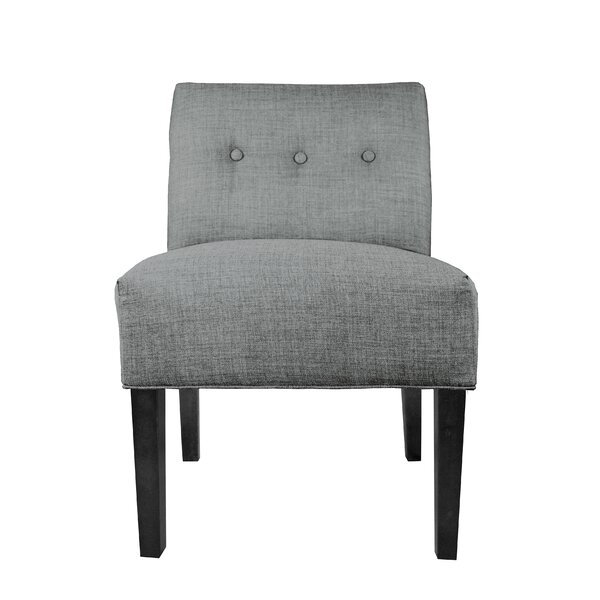 Zaylee Slipper Chair by Winston Porter