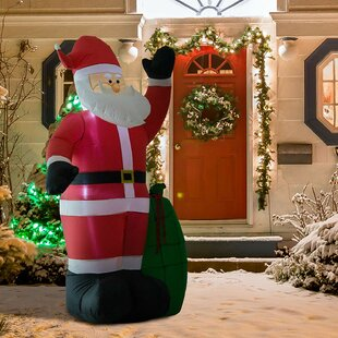 7bd6251e660 Outdoor Santa Claus Christmas Holiday Inflatable