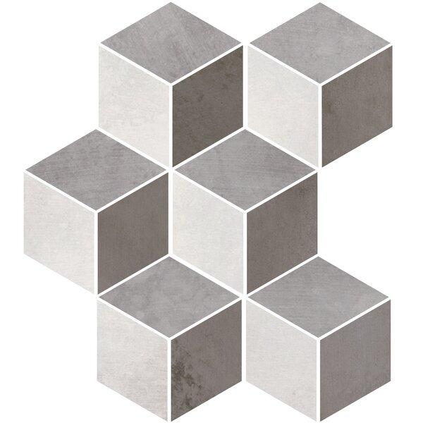 Metal Max 3 x 8 Porcelain Mosaic Tile