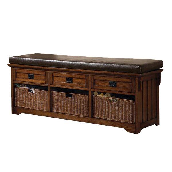 Upland Wooden Storage Bench by Wildon Home ®