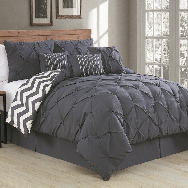 Germain Reversible Comforter Set By House Of Hampton.