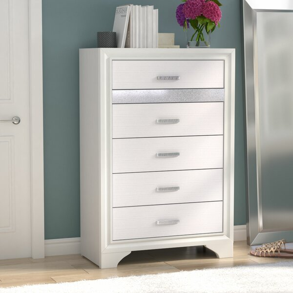 Alessandra 5 Drawer Chest by Willa Arlo Interiors