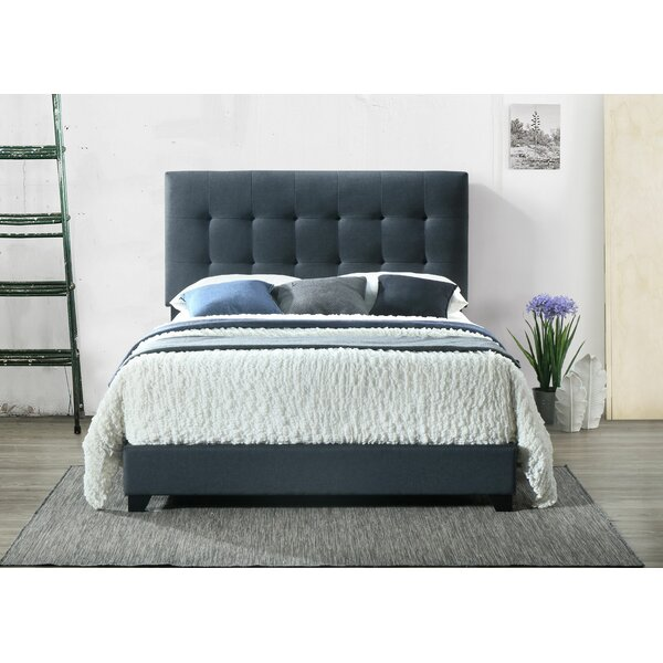 Seese Upholstered Standard Bed by Charlton Home