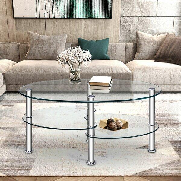Takako 4 Legs Coffee Table By Orren Ellis