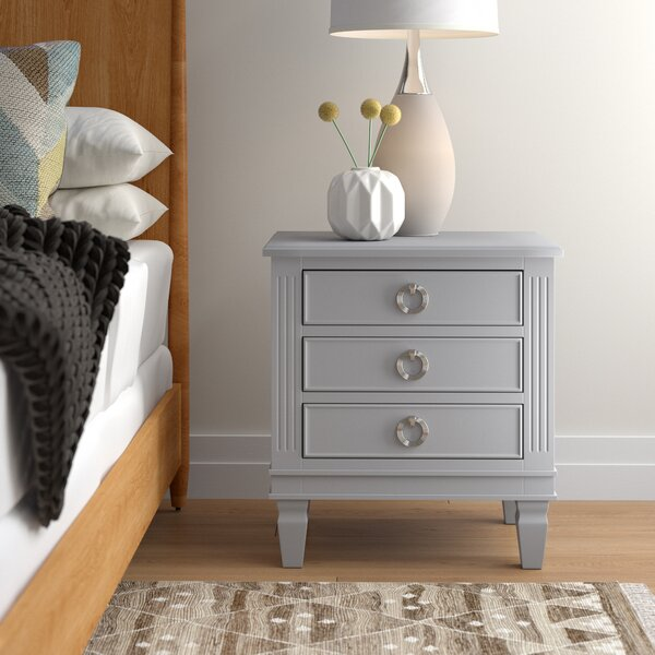 Jose 3 Drawer Nightstand by Langley Street™