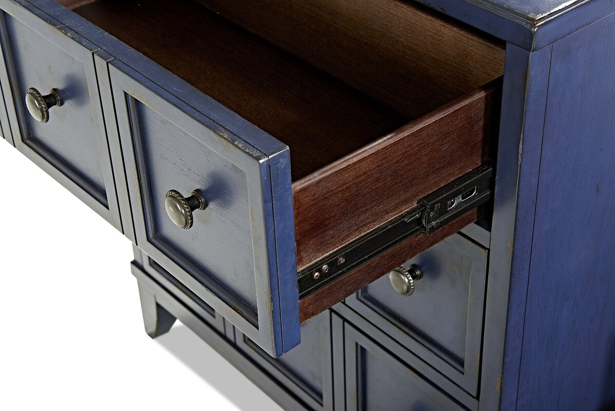 Trisha Yearwood Home Collection Metts 3 Drawer Accent