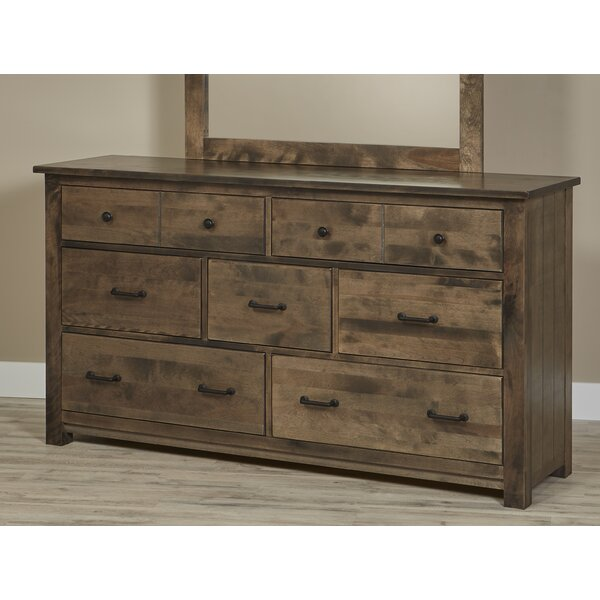Linscott Bench Built 7 Drawer Dresser by Millwood Pines