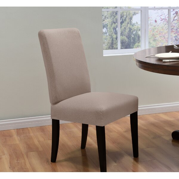 Box Cushion Dining Chair Slipcover by Latitude Run