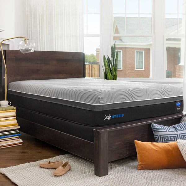 Hybrid™ Performance Copper II 13.5 Plush Mattress and 9 Box Spring by Sealy