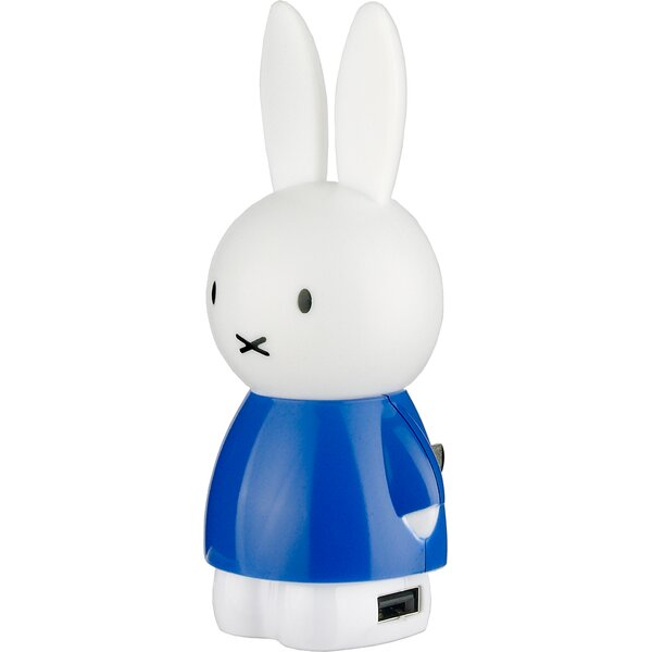 Night Light with USB Outlet by Miffy