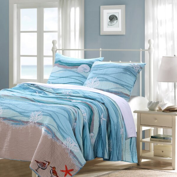Cosmo Reversible Quilt Set by Beachcrest Home