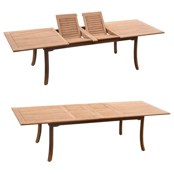 Stephanie Luxurious 7 Piece Teak Dining Set by Rosecliff Heights
