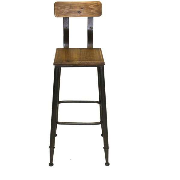 Clabaugh 28 Bar Stool by Gracie Oaks