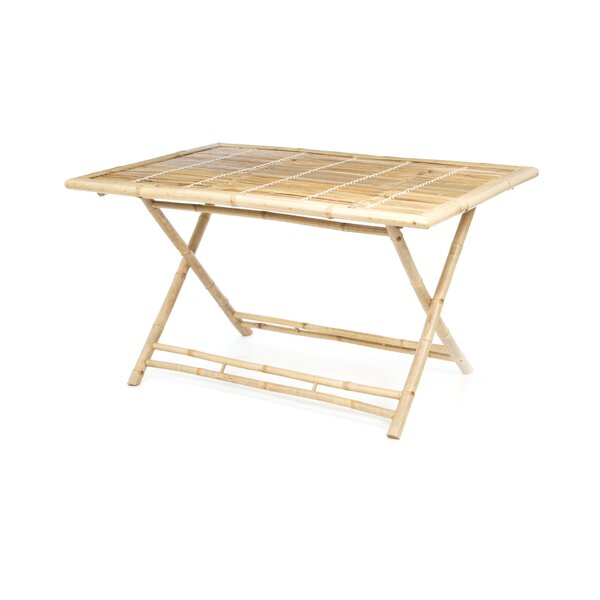 Porter Rectangle Bamboo Dining Table by Bay Isle H