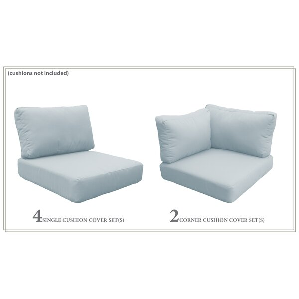 Fairfield 15 Piece Indoor/Outdoor Cushion Cover Set by Sol 72 Outdoor Sol 72 Outdoor