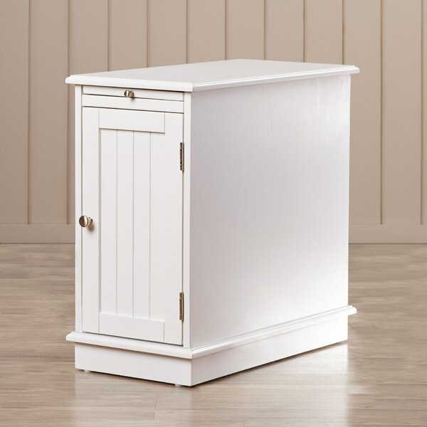 Lewis End Table With Tray By Breakwater Bay