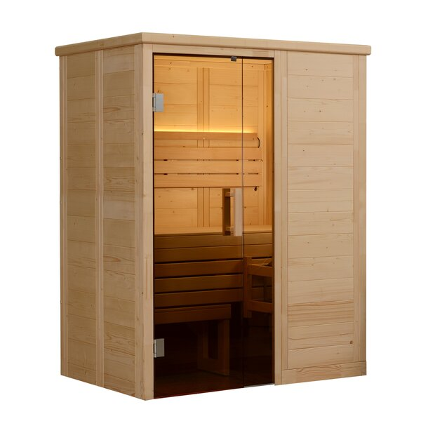 Hillsboro 2 Person Traditional Steam Sauna by Almost Heaven Saunas LLC