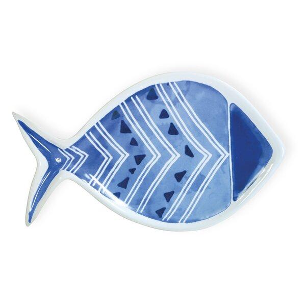 Brooker Plump Fish Platter by Beachcrest Home