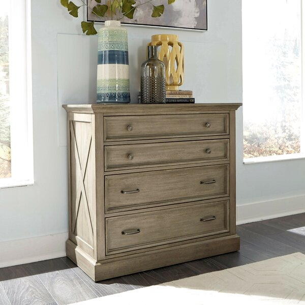 Darin Lodge 4 Drawer Chest by Gracie Oaks