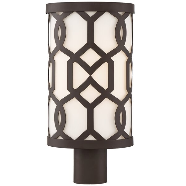 Wheless 1-Light Outdoor Post Light by Willa Arlo Interiors