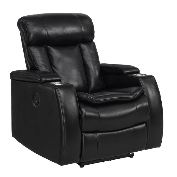 Yair Smart Tech Power Recliner Red Barrel Studio W001609042
