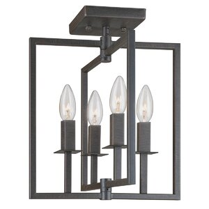Camillea 4-Light Semi Flush Mount