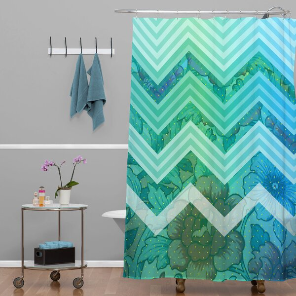 Fabric Shower Curtain by East Urban Home