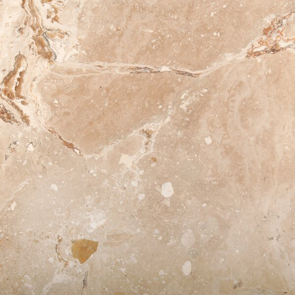 Travertine 18 x 18 Filled and Honed Field Tile in Valencia