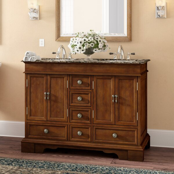Betsy 48 Double Bathroom Vanity Set by Darby Home Co