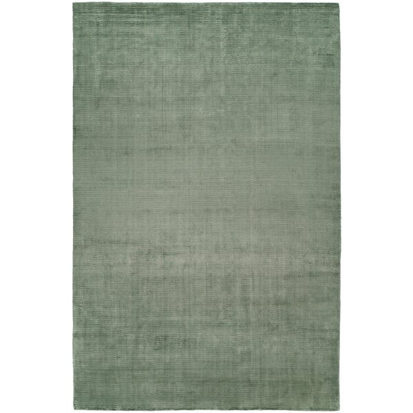 Ben Hand-Woven Green Area Rug by Meridian Rugmakers