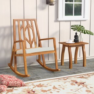 Eliane 2 Piece Rocker Seating Group With Cushion