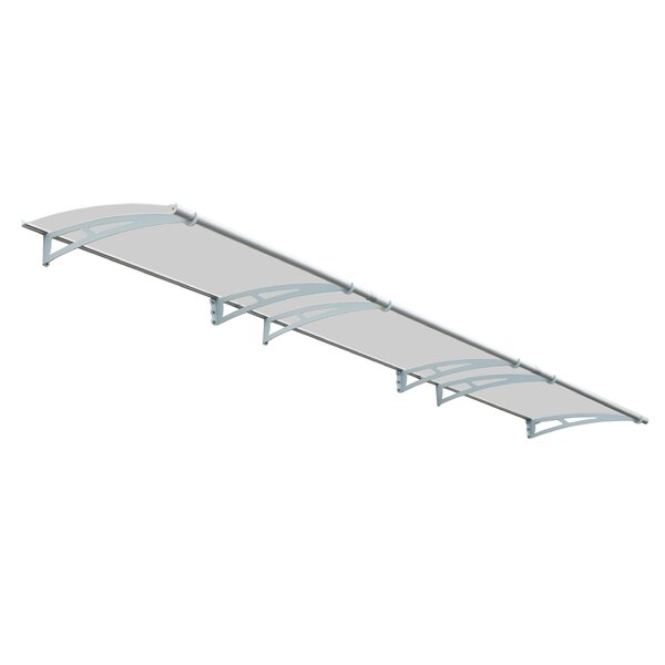 Aquila™ 4500 15 ft. W x 3 ft. D Door Awning by Palram