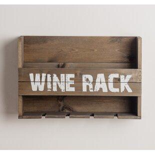 Order Maye 5 Bottle Wall Mounted Wine Rack Best Buy