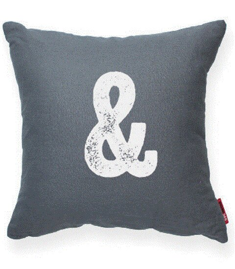 Dolton Ampersand Decorative Throw Pillow by Gracie Oaks