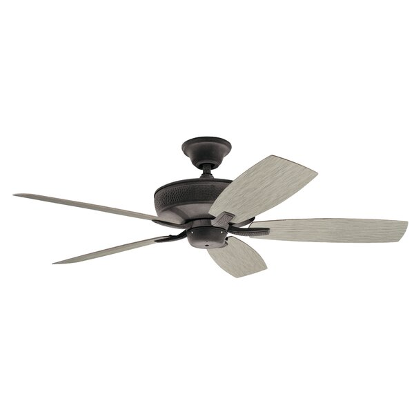 52 Julius Patio 5 Blade Outdoor Ceiling Fan by Alcott Hill