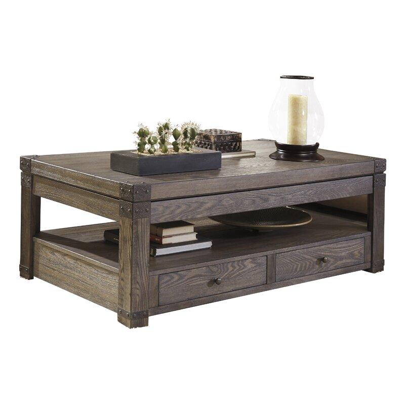 Lift Table Coffee Table: Loon Peak Bryan Coffee Table With Lift Top & Reviews