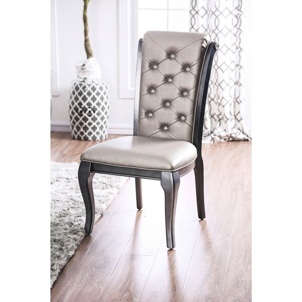 Hitterdal Upholstered Dining Chair (Set of 2) by House of Hampton