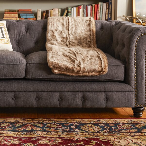 Valuable Quality Lindstrom Chesterfield Sofa by Darby Home Co by Darby Home Co