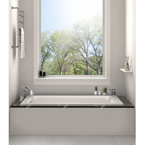 soaking tub and shower combo. Drop In Bathtub 32  x 48 Soaking Tub Shower Combo Wayfair