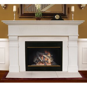 Surround Fireplace Mantels You'll Love | Wayfair
