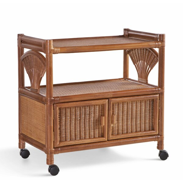 Lydia 2 Door Bar Cart by Rosecliff Heights