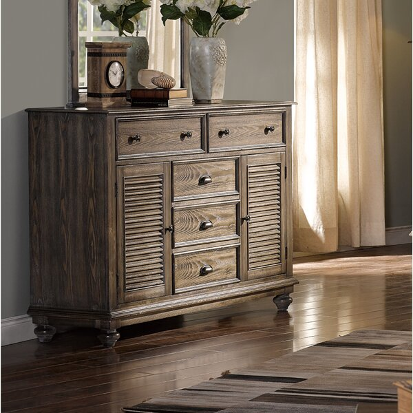 Spriggs 5 Drawer Combo Dresser by Highland Dunes