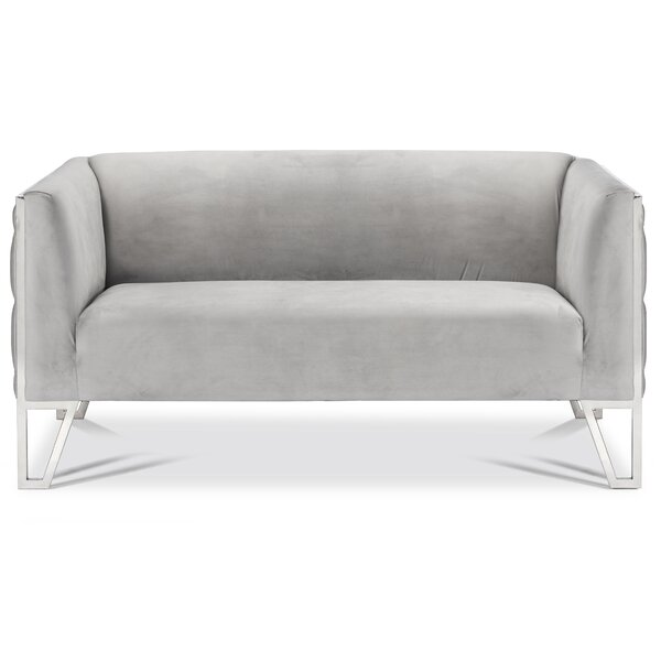 Cotten Standard Loveseat By Orren Ellis Comparison