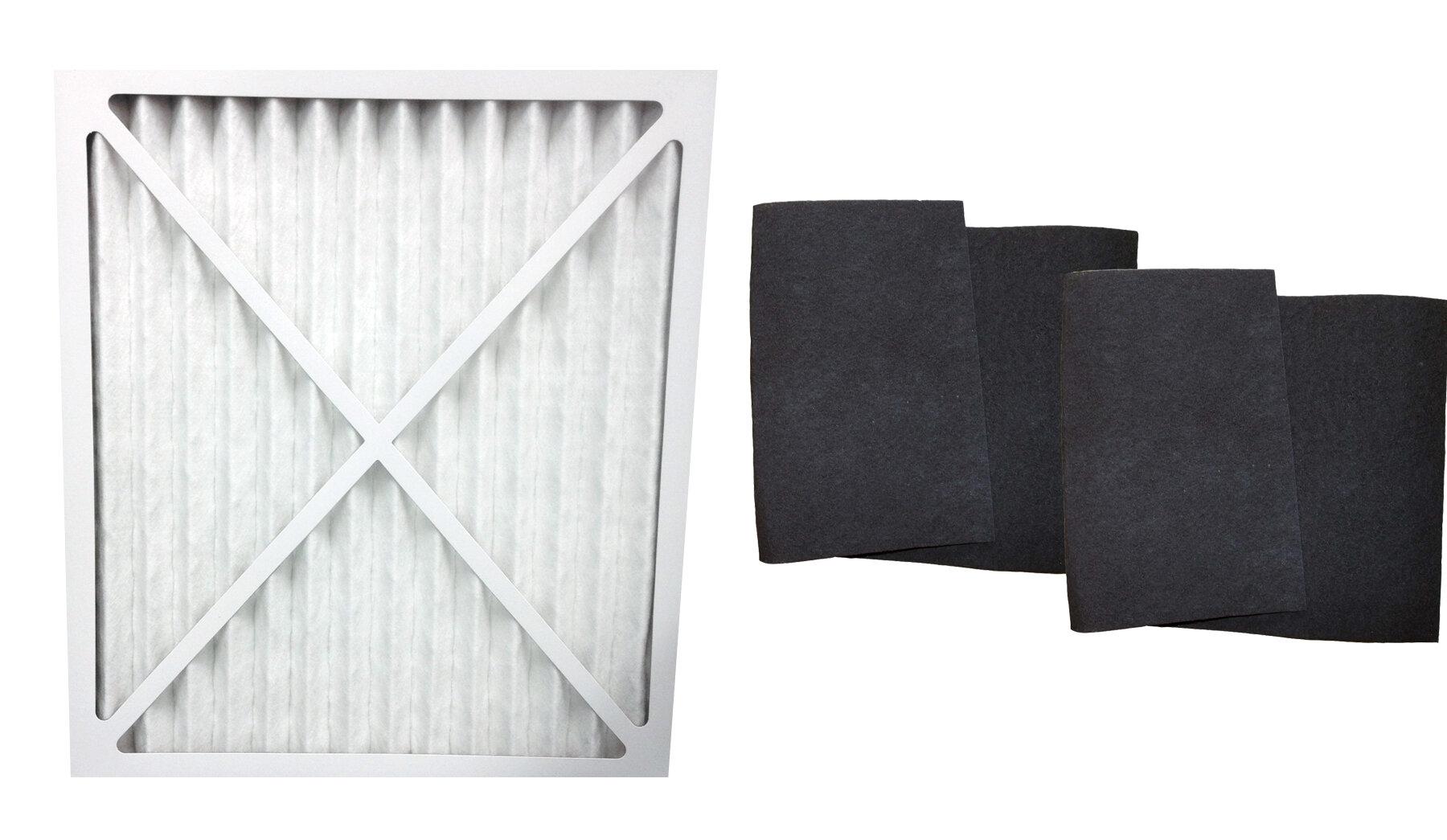 Crucial 3 Piece Think Air Purifier Filter Set Wayfair