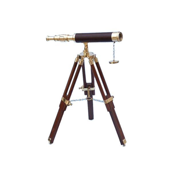 Harrisville Floor Standing Master Decorative Telescope by Longshore Tides