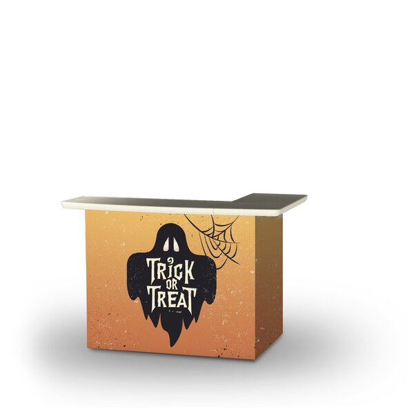 Albrightsville Halloween Trick or Treat Ghost Home Bar by East Urban Home