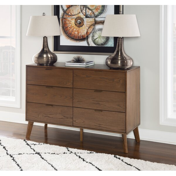 Radcliff 6 Drawer Double Dresser by Corrigan Studio